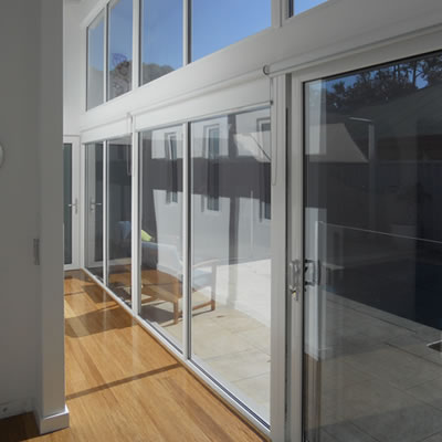 Impressive double glazing fit out