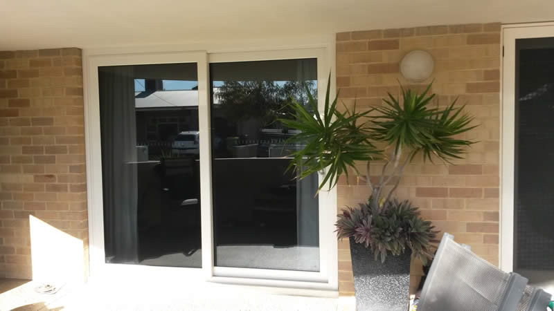 New double glazed sliding door